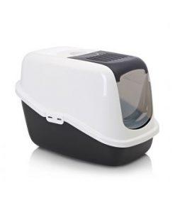 باکس توالت گربه مسقف با درب تاشو نستور SAVIC