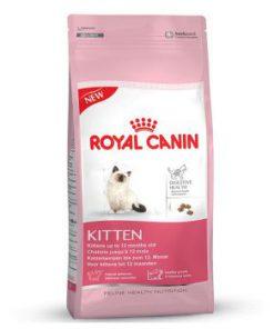 غذای خشک بچه گربه 4 تا 12 ماه