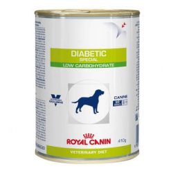 کنسرو سگ مبتلا به دیابت - محتوی نشاسته کم