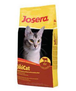 غذای خشک جوسی کت جوسرا مخصوص گربه های بالغ با طعم گوشت گوساله