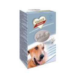 جعبه اسنک سگ های نژاد متوسط و بزرگ شامل 57 عدد اسنک متنوع