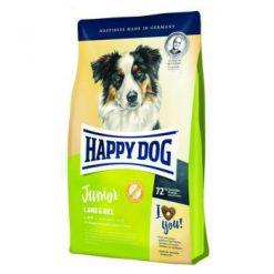 غذای خشک سگ جوان نژاد متوسط و نژاد بزرگ با طعم بره و برنج