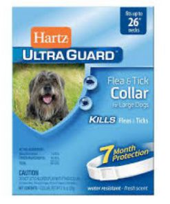 قلاده ضد کک و کنه مخصوص سگ Hartz