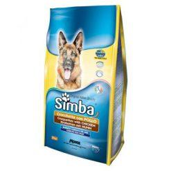 غذا خشک مخصوص سگ بالغ سیمبا یا طعم مرغ