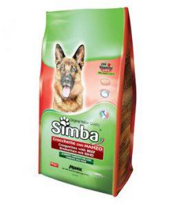 غذا خشک مخصوص سگ بالغ سیمبا با طعم بیف