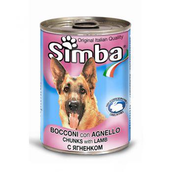 کنسرو مخصوص سگ بالغ سیمبا با طعم بره