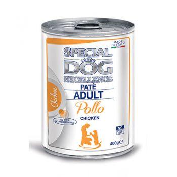 کنسرو پته مخصوص سگ بالغ یا طعم مرغ