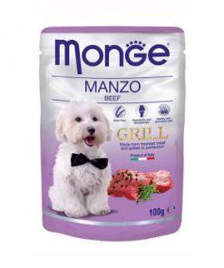 پوچ گریل مخصوص سگ بالغ با طعم بیف