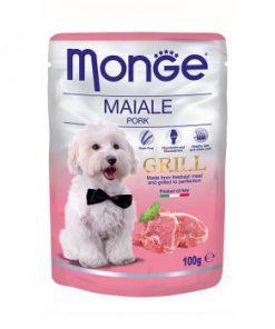 پوچ گریل مخصوص سگ بالغ با طعم گراز