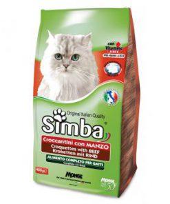 غذا خشک Simba مخصوص گربه بالغ با طعم بیف