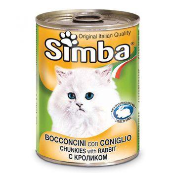 کنسرو چانک Simba با طعم خرگوش