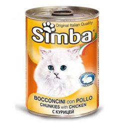 کنسرو چانک Simba با طعم مرغ