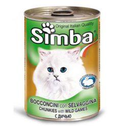 کنسرو چانک Simba با طعم گوشت شکاری