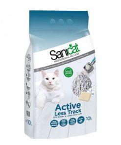 خاک گربه سانی کت اکتیو با خاصیت ضدعفونی کننده با رایحه صابون