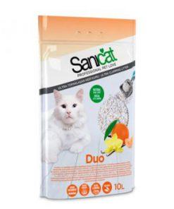 خاک گربه سانی کت با دو رایحه وانیل و نارنگی