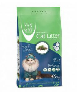 خاک گربه ون کت اولتراکلامپینگ با رایحه کاج جنگلی حاوی مواد آنتی باکتریال