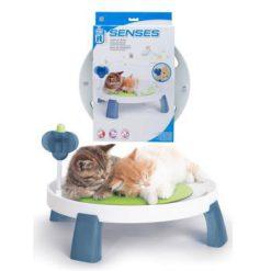 کاناپه گربه همراه ماساژورها و اسباب بازی