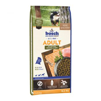 غذا خشک مخصوص سگ بالغ با طعم مرغ و ارزن