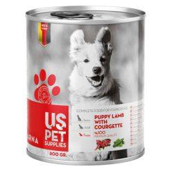 کنسرو غذای سگ یو اس پت مدل Courgette مقدار 400 گرمی