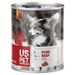 کنسرو غذای سگ یو اس پت مدل Pure مقدار 400 گرمی