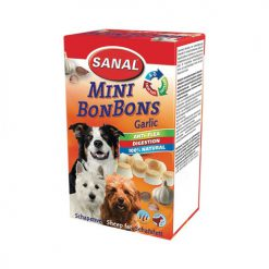 Sanal Dog Mini Sheepfat Bonbons Garlic