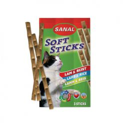 Sanal Cat Lamb & Rice Sticks