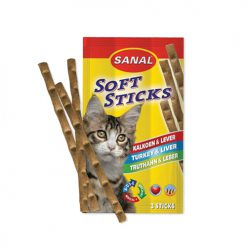 Sanal Cat Turkey & Liver Sticks