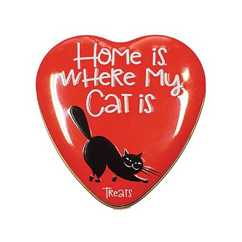 Sanal Cat Vitamin Treats heart tin