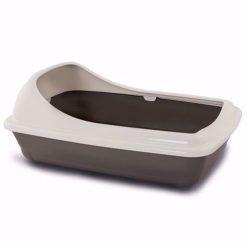 توالت لبه دار گربه یو اس پت مدل بیربا