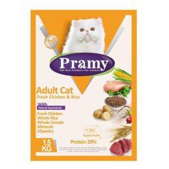 Adult cat fresh Chicken غذاي خشک گربه با طعم مرغ & Rice 29%