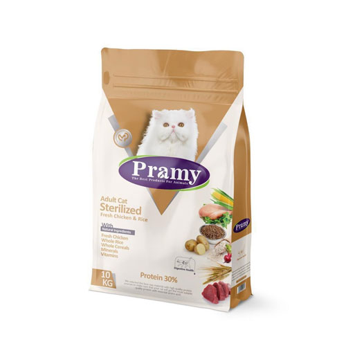 Adult cat sterilized fresh chicken & rice 30%