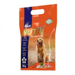 Nutri Pet Adult 21Percent Probiotic Dry Dog Food 2 kg