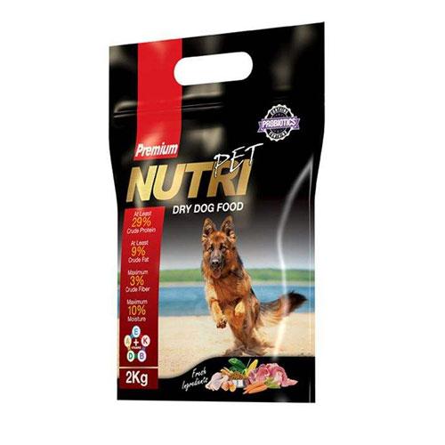 Nutri Pet Premium 29 Percent Dry Dog Food 2 kg