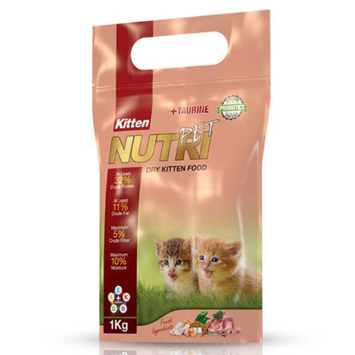 Nutri Pet Kitten Probiotic Dry Kitten 1 Kg