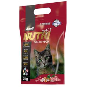 Nutri Pet 29Percent Pro Dry Cat Food 2 Kg