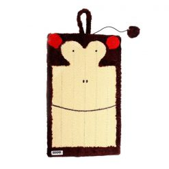 اسکرچر گربه مدل میمون قهوه ای