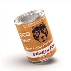 کنسرو سگ لوکا با طعم پته مرغ 425 گرم