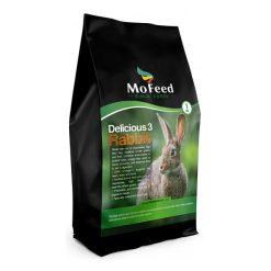 غذای خرگوش مفید delicious3 Rabbit 1kg