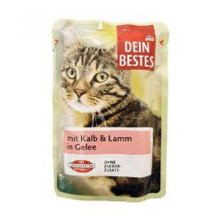 پوچ گربه داین بست حاوی گوشت گوساله و بره (100 گرم)