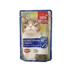 پوچ گربه دین بستس حاوی ماهی حلوا در سس مخصوص