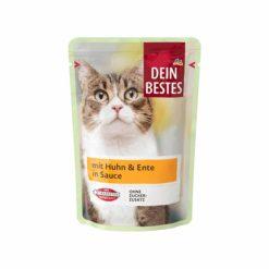 پوچ گربه دینبستس باطعم بوقلمون ومرغ