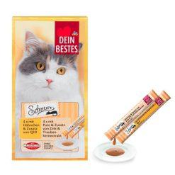 بستنی مخصوص گربه در دو طعم بسته ۸ عددی دین بستس
