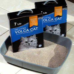 خاک گربه ولکا کت سوپر پرمیوم 7kg
