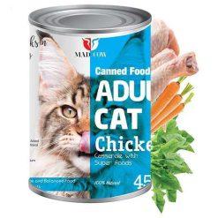 کنسرو گربه مدکوو با طعم مرغ