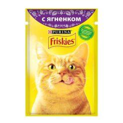 پوچ گربه با طعم گوشت بره فریسکیز - اورجینال