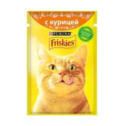 پوچ گربه با طعم مرغ فریسکیز - اورجینال
