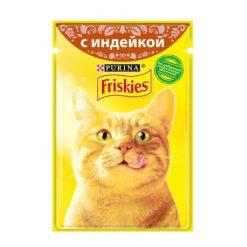 پوچ گربه با طعم بوقلمون فریسکیز - اورجینال