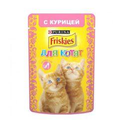 پوچ بچه گربه با طعم مرغ فریسکیز - اورجینال