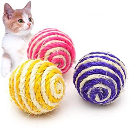 توپ بازی سگ و گربه سیسال