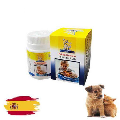 قرص مولتی ویتامین سگ و گربه اچ اند جی پت